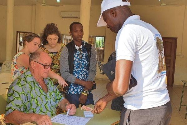 Mission locale de l'association Couleur Partage Bénin