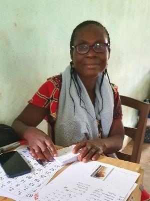 Odette, missions locales Couleur Partage Benin